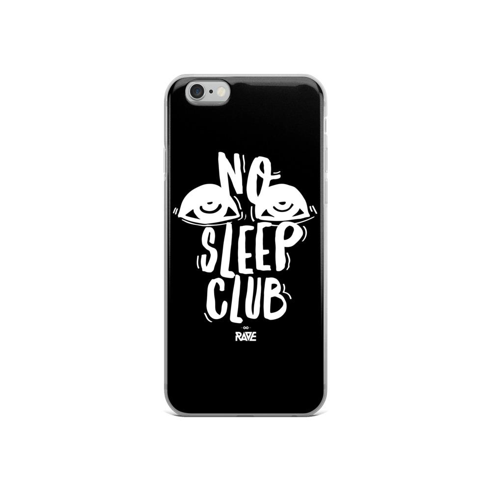 No Sleep Club iPhone Handyhülle