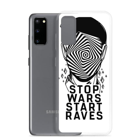 Stop Wars Start Raves Samsung Handyhülle