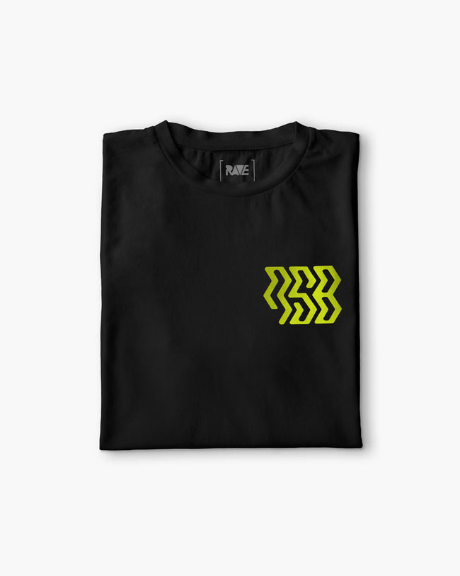 New Stylez Booking T-Shirt in black
