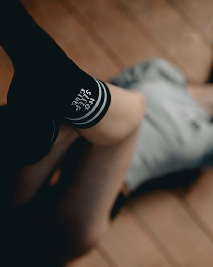 No Sleep Club Socken von RAVE Clothing