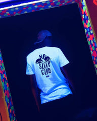 No Sleep Club Techno T-Shirt RAVE Clothing