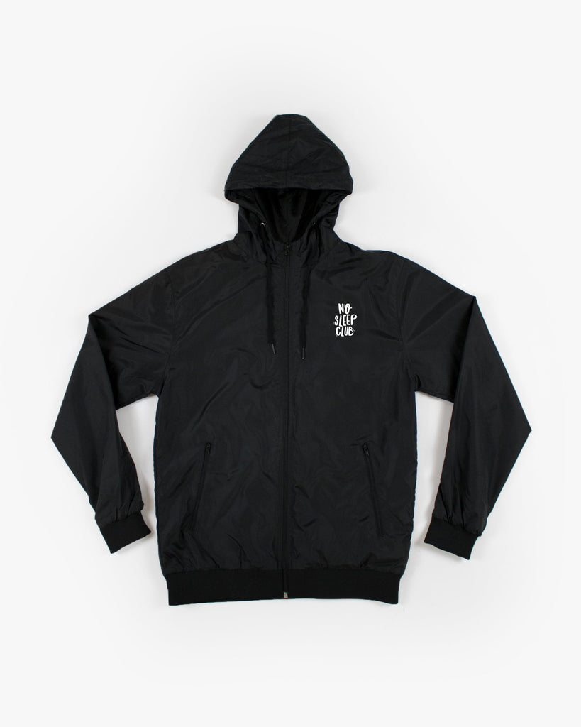 No Sleep Club Windbreaker