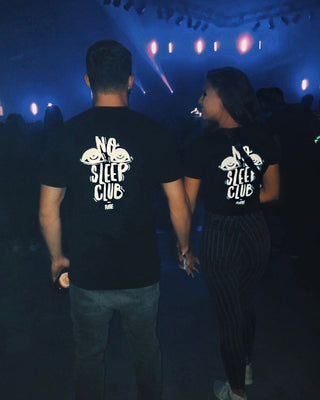 No Sleep Club T-Shirt in schwarz