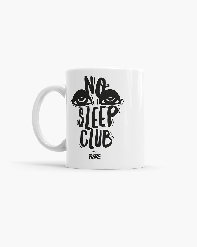 No Sleep Club Tasse