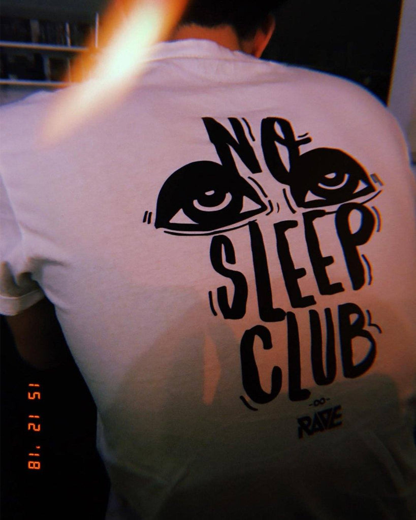No Sleep Club T-Shirt von RAVE Clothing