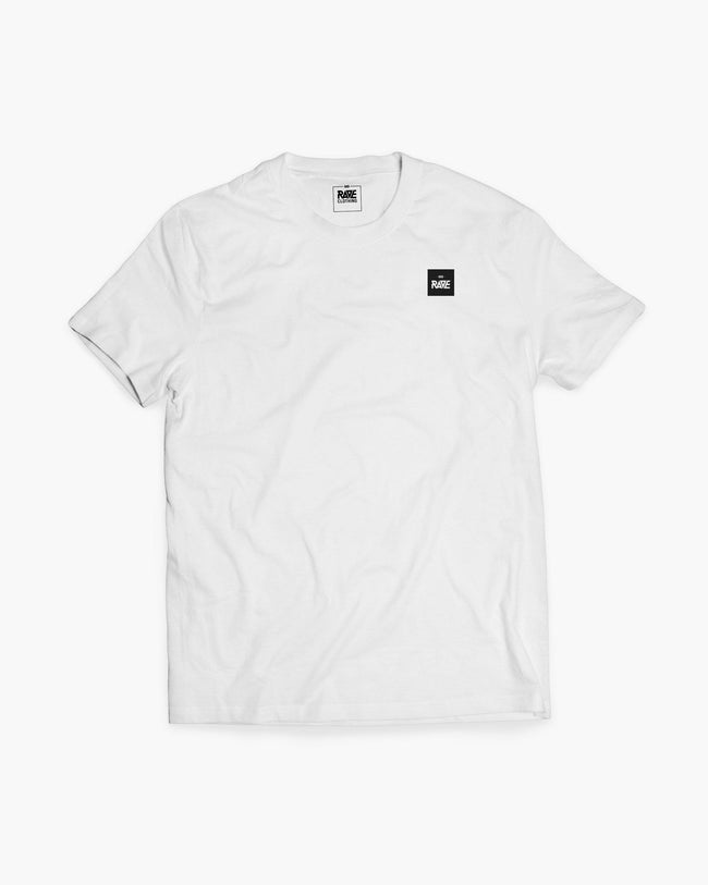 RAVE Basic T-Shirt in white for men by RAVE Clothing