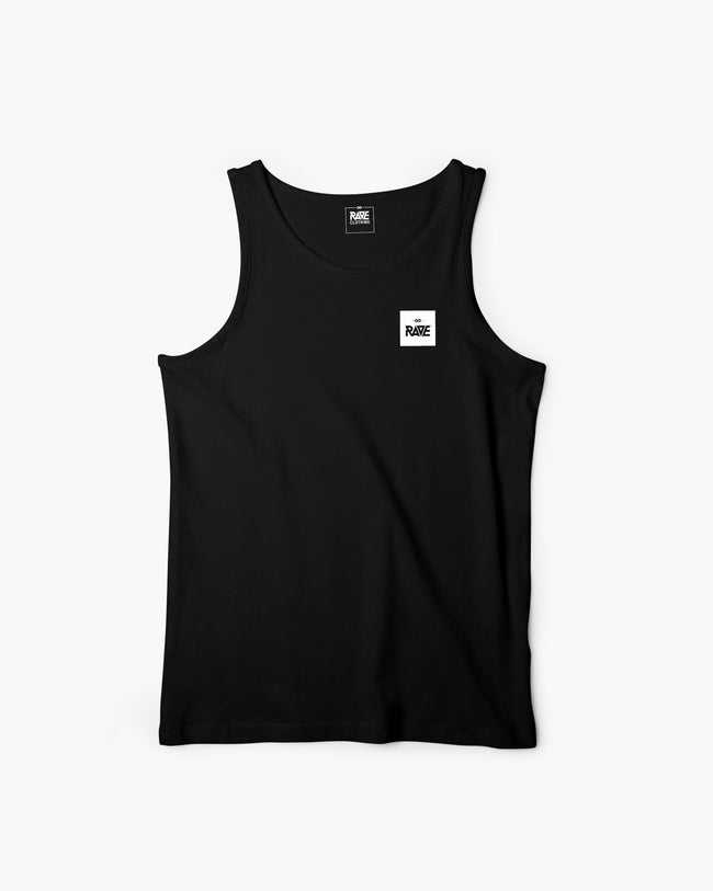 RAVE Basic Tanktop in black for men by RAVE Clothing