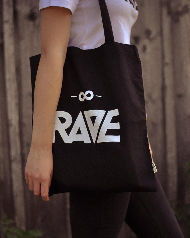 RAVE Clothing jute bags