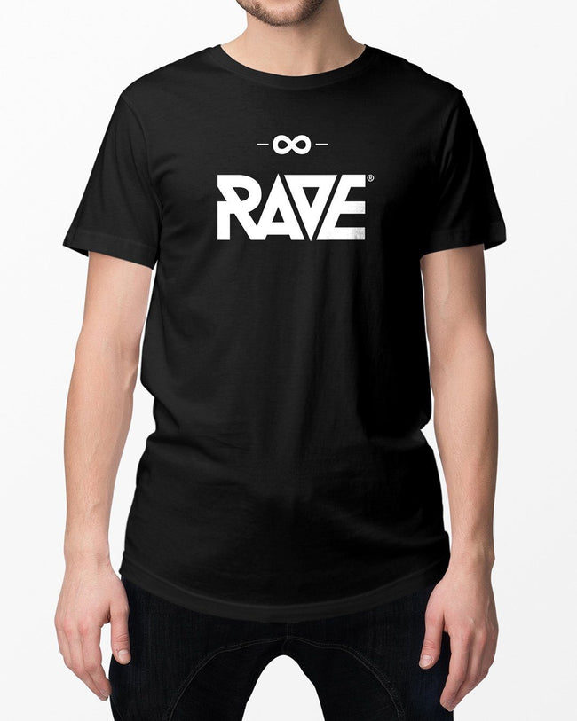 RAVE T-Shirt in schwarz
