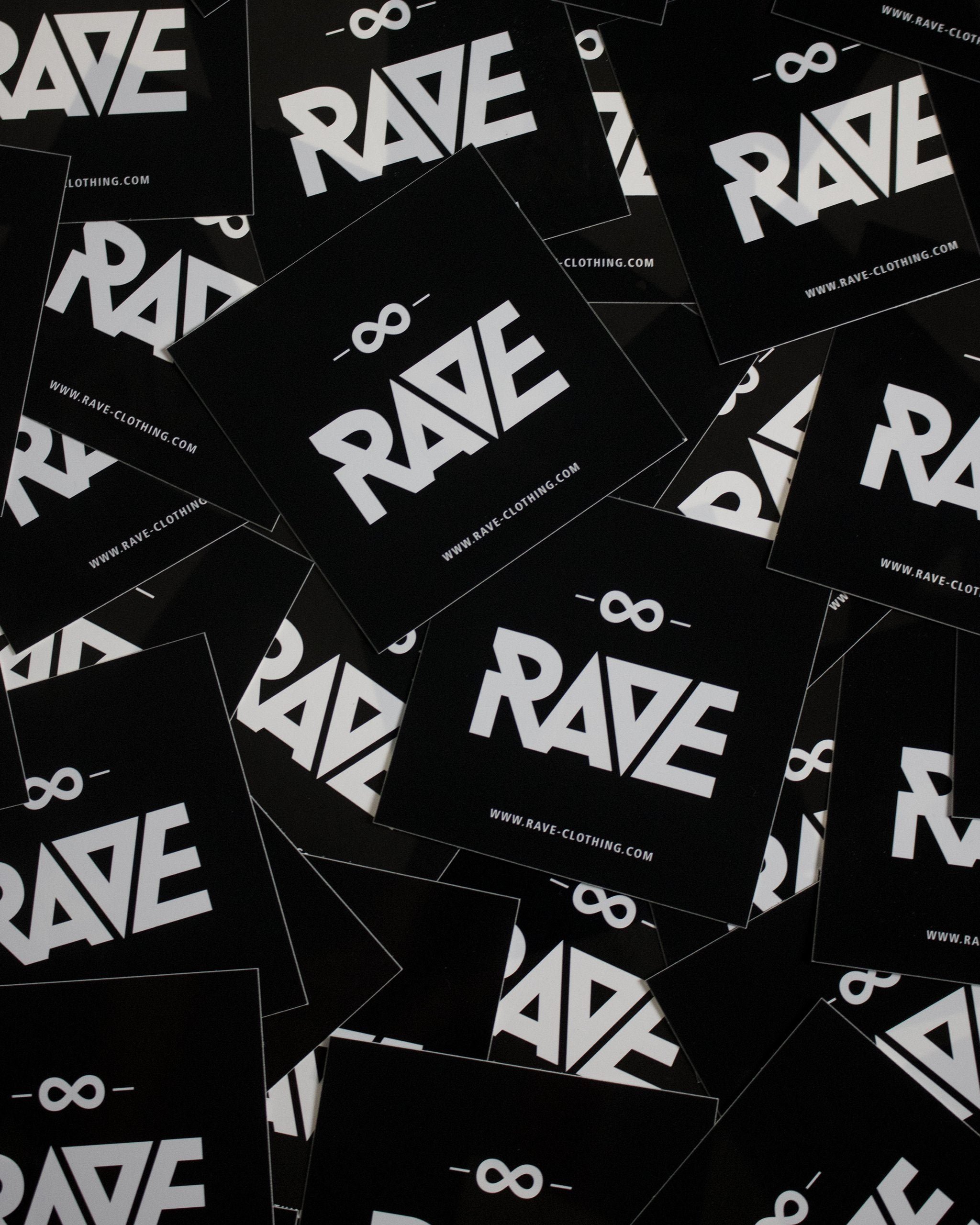 RAVE Clothing Sticker by RAVE Clothing