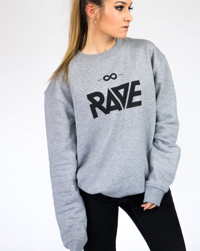 Techno sweater with Rave logo