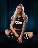 RAVE crop top for women