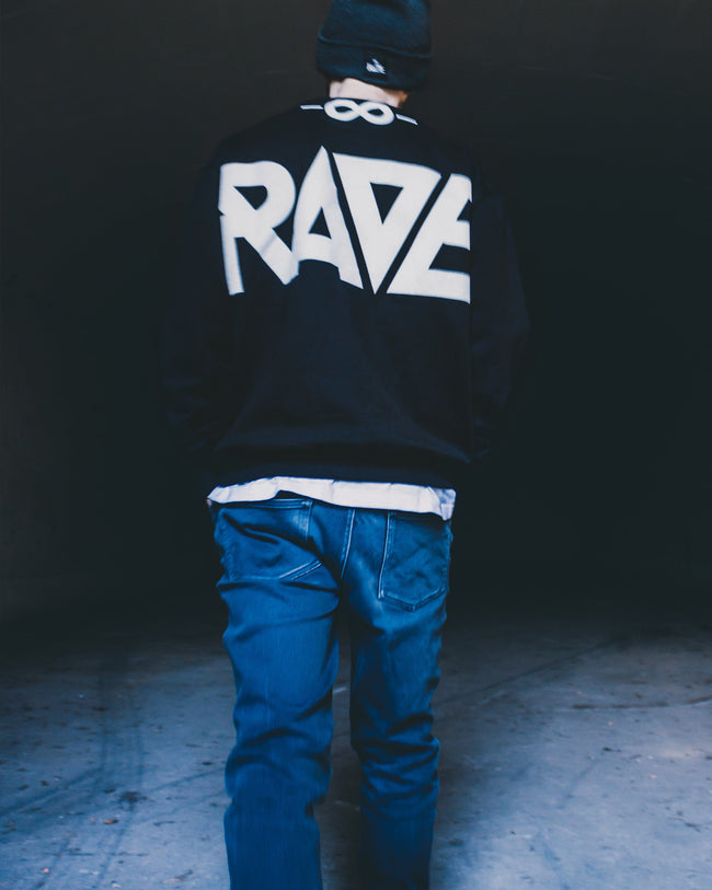 RAVE Gang Crewneck by RAVE Clothing in black