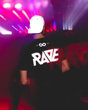 RAVE Gang T-Shirt in schwarz