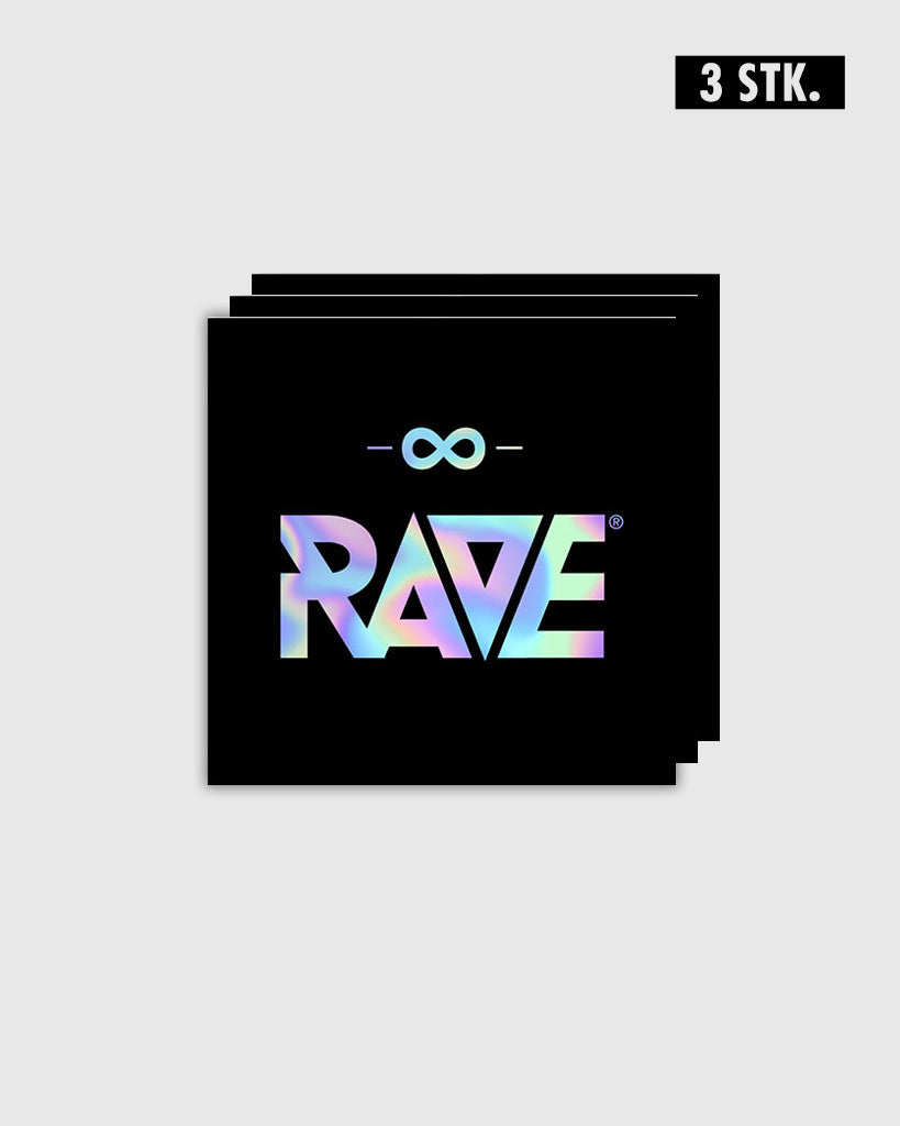 RAVE Holo Sticker 3 Stk.