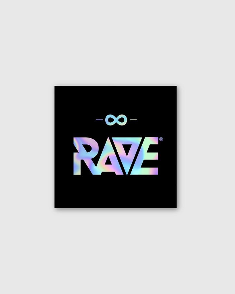 RAVE Holographic Sticker from RAVE Clothing