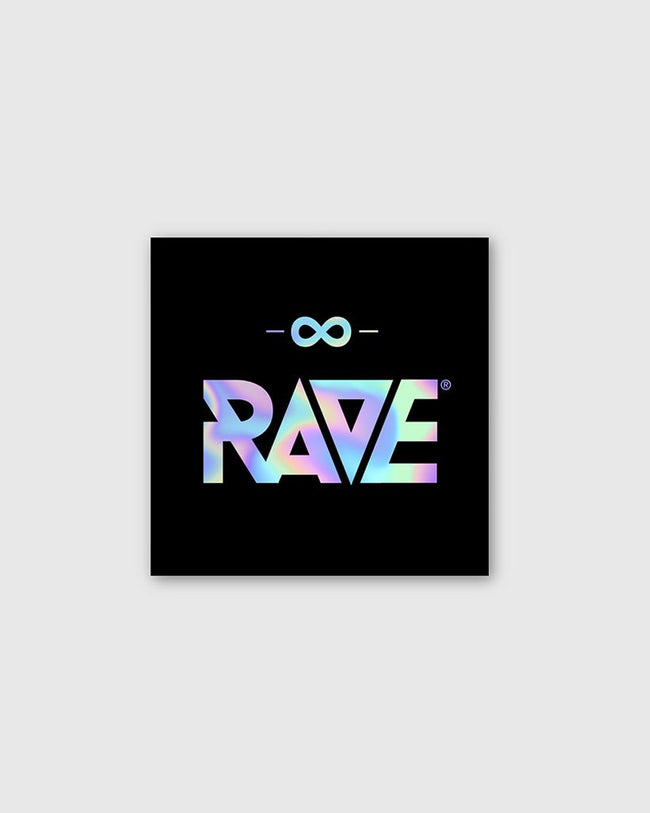 RAVE Holographic Sticker von RAVE Clothing