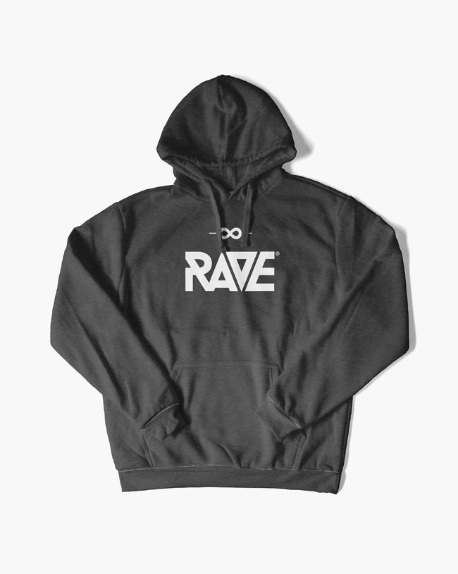 RAVE hoodie in dark gray for women by RAVE Clothing