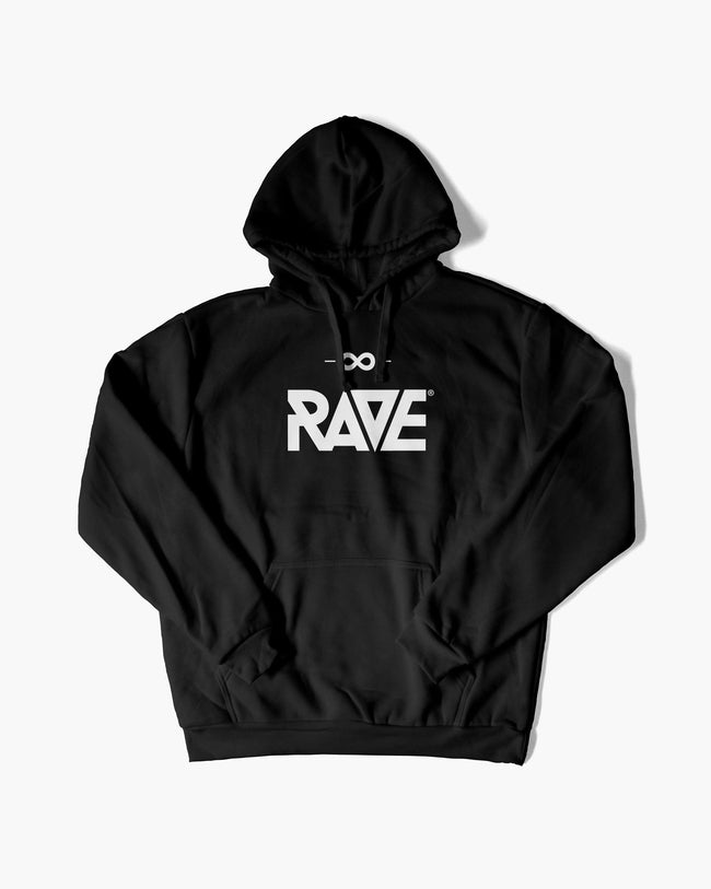 RAVE hoodie in black for men by RAVE Clothing