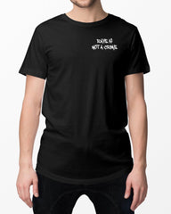 Rave is not a crime T-Shirt in schwarz von RAVE Clothing