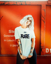 RAVE ladies t-shirt in white