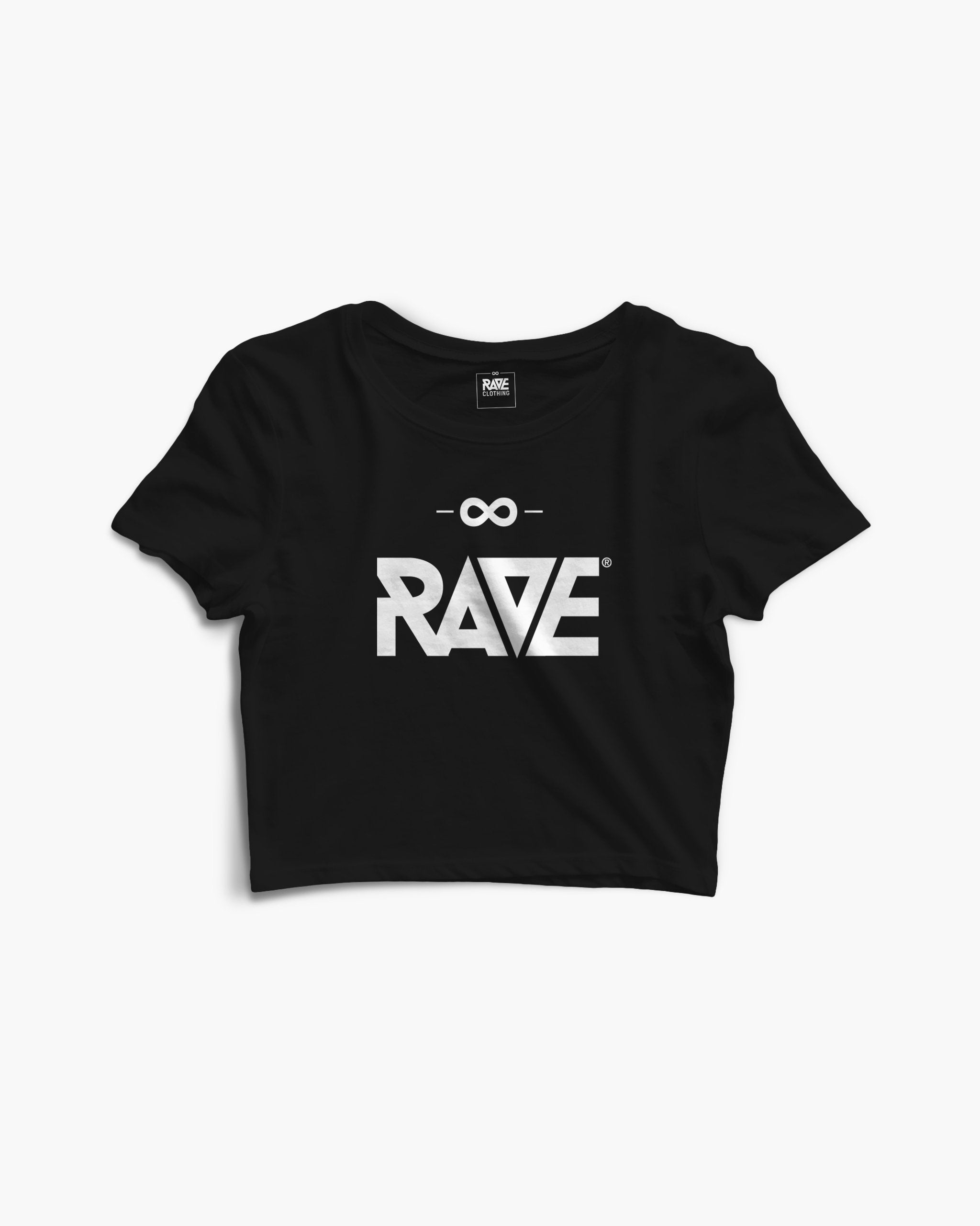RAVE Crop Top in black for women by RAVE Clothing