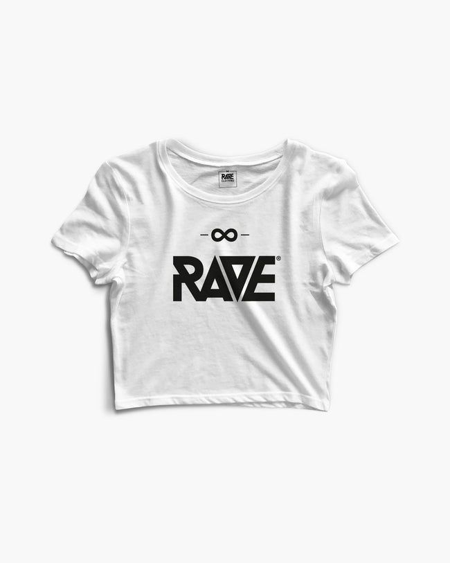 RAVE Crop Top in white for women by RAVE Clothing