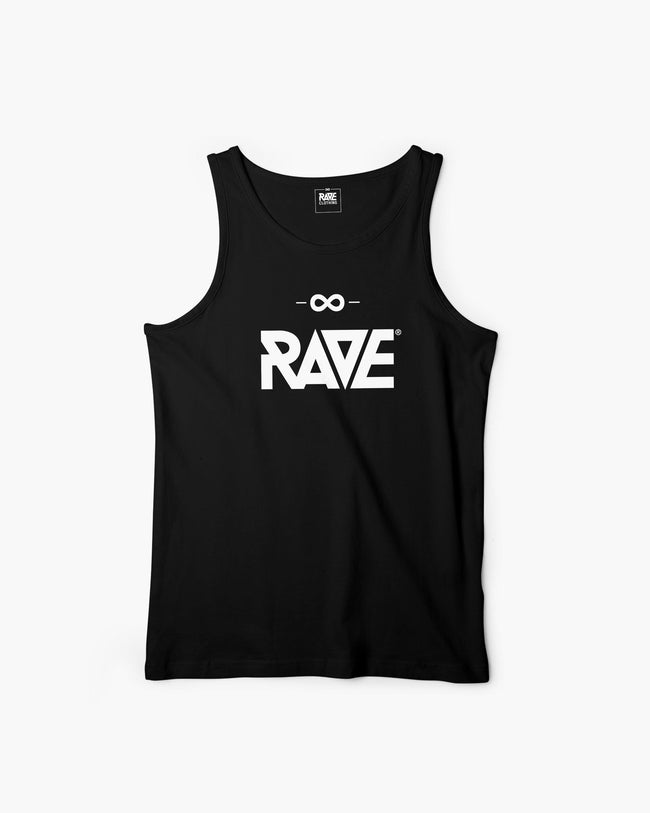 RAVE tank top in black for men by RAVE Clothing
