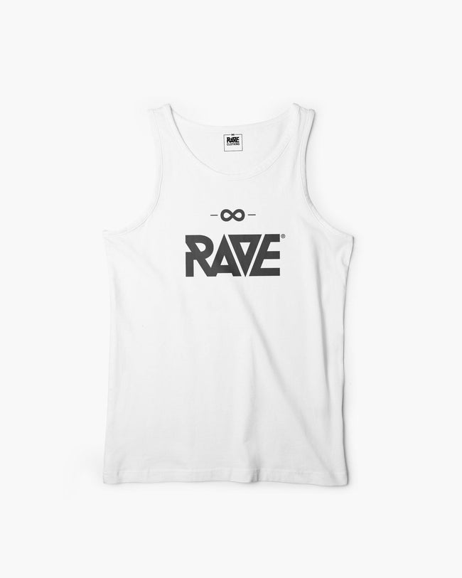 RAVE Tanktop in white for men by RAVE Clothing