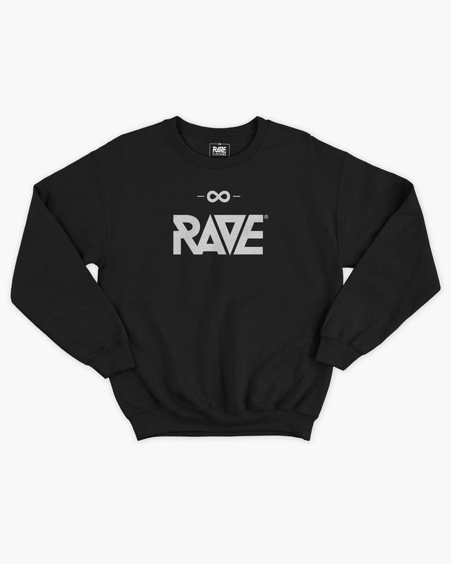 RAVE Crewneck in black for women by RAVE Clothing