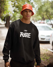 RAVE Crewneck in schwarz