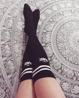 RAVE socks in black for women by RAVE Clothing
