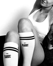 RAVE socks in white