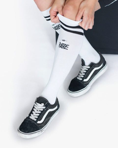 Rave Socken für Techno Outfits