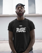 RAVE t-shirt in black