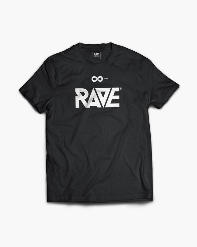 RAVE T-shirt in black for men by RAVE Clothing