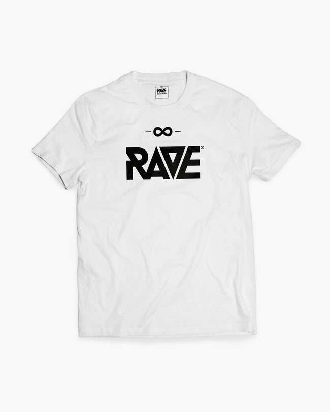 RAVE T-shirt in white for women by RAVE Clothing