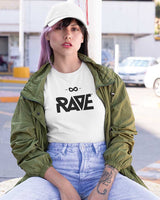 RAVE t-shirt in white for women