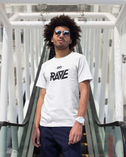 RAVE t-shirt in white
