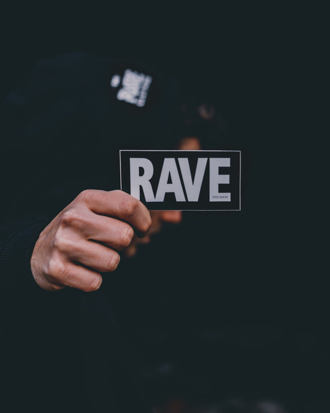 Rave sticker