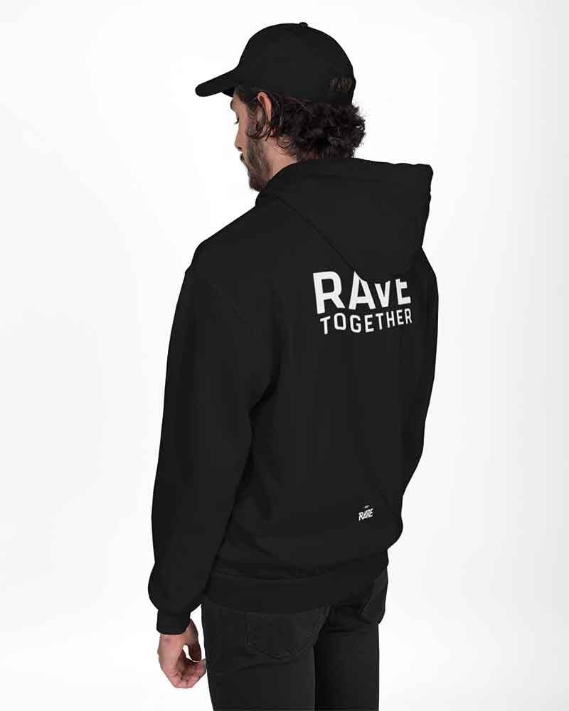 Rave Together Stay Together Partner Hoodies