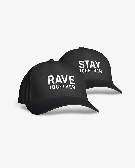 Rave Together Stay Together Baseball Kappen