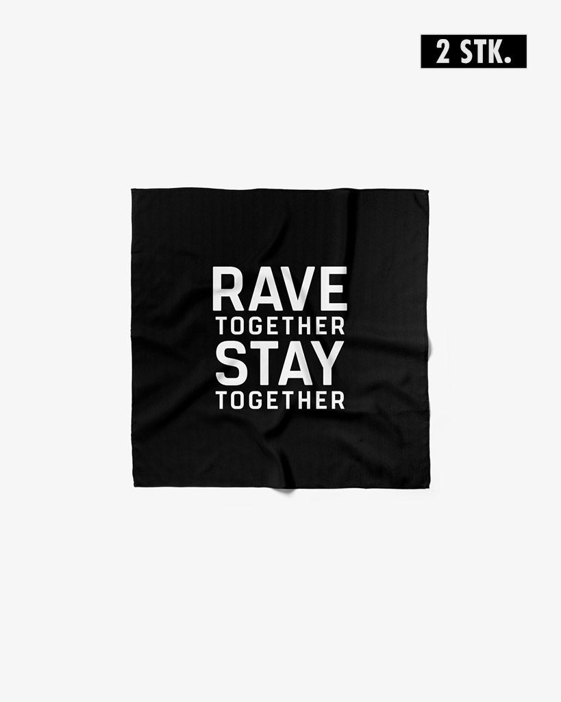Rave Together Stay Together flags
