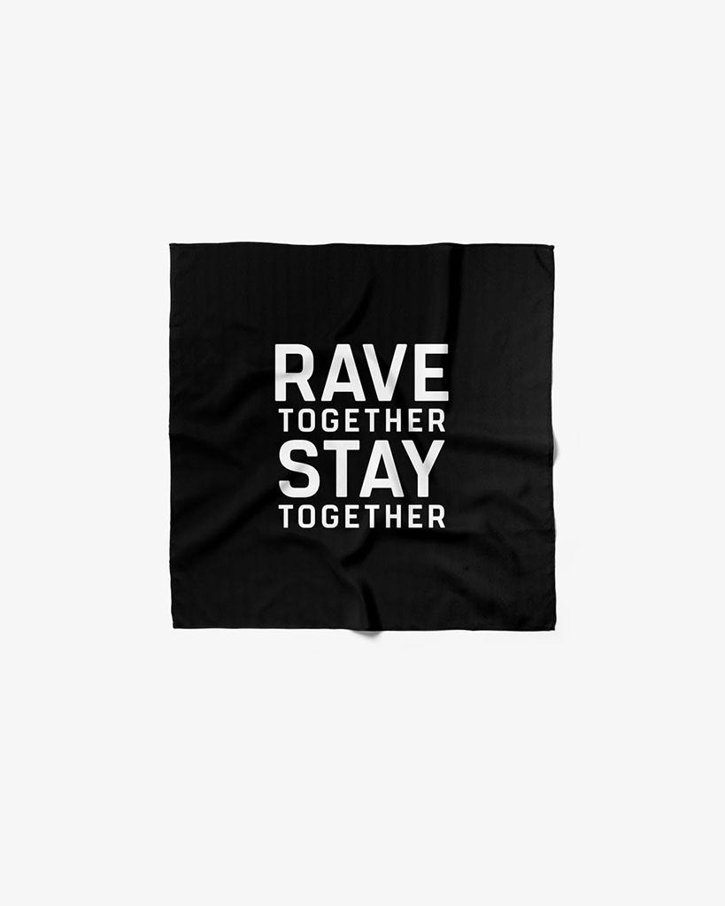 Rave Together Stay Together Fahne
