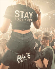 Rave Together Stay Together Partner T-Shirt & Crop Top