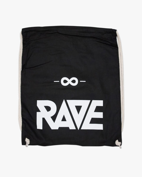 RAVE gym bags by RAVE Clothing for techno festivals or raves