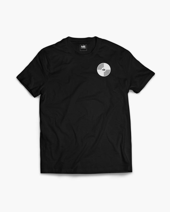 RAVE Vinyl T-Shirt in schwarz