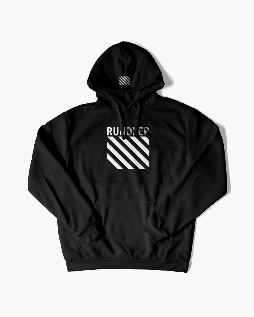 RUN DEEP Hoodie von RAVE Clothing