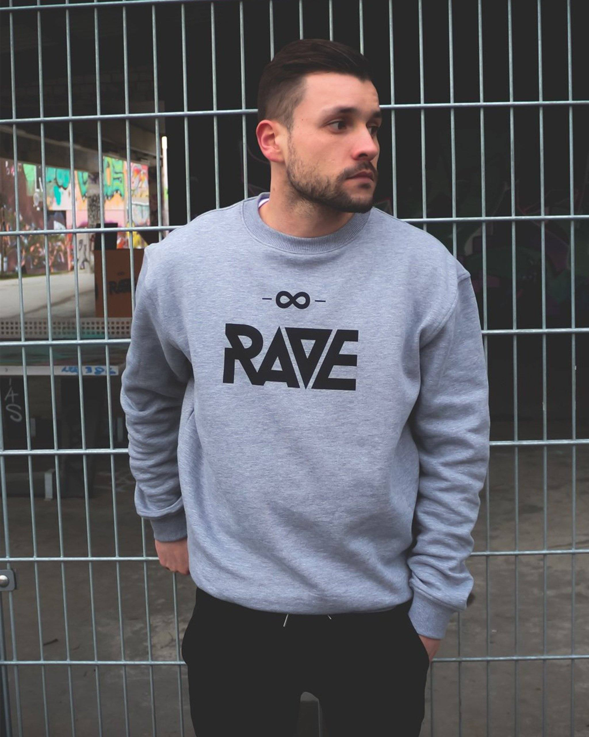Rave techno sweater