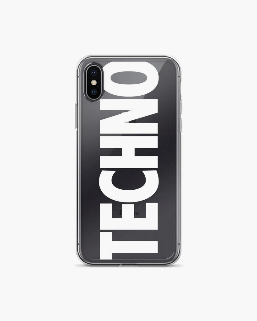 Techno iPhone Handyhülle